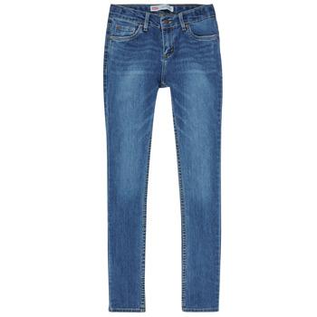 Textil Rapaz Gangas Skinny Levi's SKINNY TAPER JEANS Azul