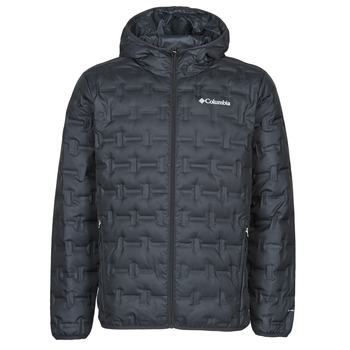 Textil Homem Quispos Columbia DELTA RIDGE DOWN HOODED JACKET Preto