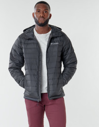 Textil Homem Quispos Columbia POWDER LITE HOODED JACKET Preto