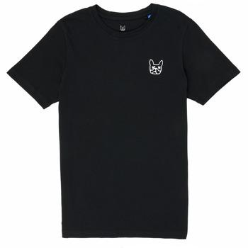 Textil Rapaz T-Shirt mangas curtas Jack & Jones JJAARHUS TEE Preto