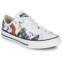 Sapatos Criança Sapatilhas Converse CHUCK TAYLOR ALL STAR - SCIENCE CLASS Branco / Multicolor