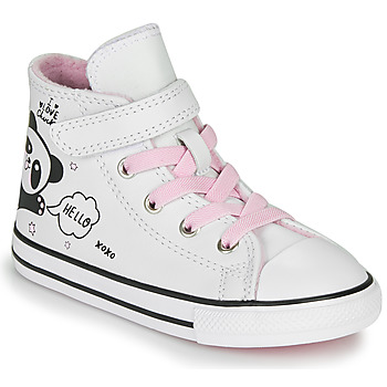 Sapatos Rapariga Sapatilhas de cano-alto Converse Chuck Taylor All Star 1V - Notes from BFF Branco
