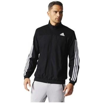 Textil Homem Casacos fato de treino adidas Originals Club Jacket Branco, Preto