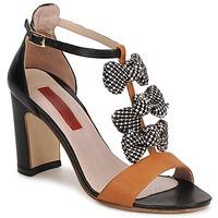 Sapatos Mulher Sandálias MySuelly NOE Preto / Castanho