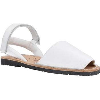 Sapatos Rapariga Sandálias Ria 20090 Branco