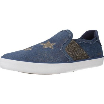 Sapatos Rapariga Slip on Geox J KILWI GIRL Azul