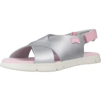 Sapatos Rapariga Sandálias Camper ORUGA Silver