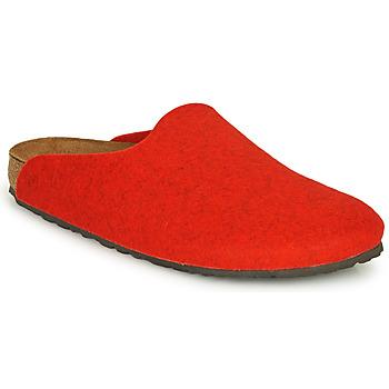 Sapatos Mulher Tamancos Birkenstock AMSTERDAM Vermelho