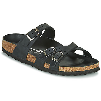 Sapatos Mulher Chinelos Birkenstock FRANCA Preto
