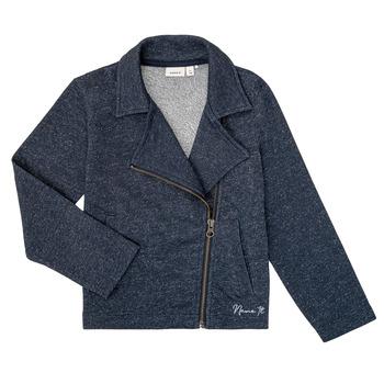 Textil Rapariga Sweats Name it NKFLIBRORG Marinho
