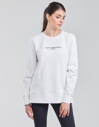 Textil Mulher Sweats Tommy Hilfiger TH ESS HILFIGER C-NK SWEATSHIRT Branco