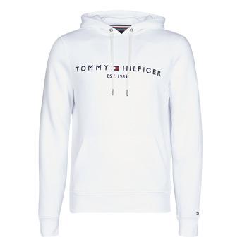 Textil Homem Sweats Tommy Hilfiger TOMMY LOGO HOODY Branco