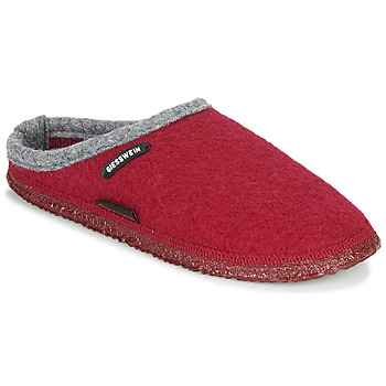 Sapatos Mulher Chinelos Giesswein DANNHEIM Vermelho / Cinza
