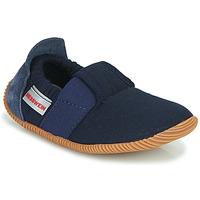 Sapatos Criança Chinelos Giesswein SOLL Marinho