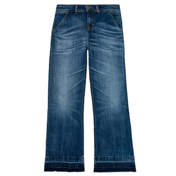 Textil Rapariga Calças de ganga bootcut Tommy Hilfiger KG0KG05199-1BJ Azul