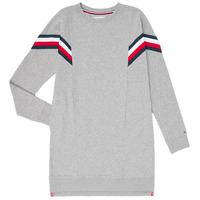 Textil Rapariga Vestidos curtos Tommy Hilfiger KG0KG05283-P6U Cinza