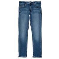 Textil Rapaz Calças de ganga slim Tommy Hilfiger SCANTON SLIM Azul
