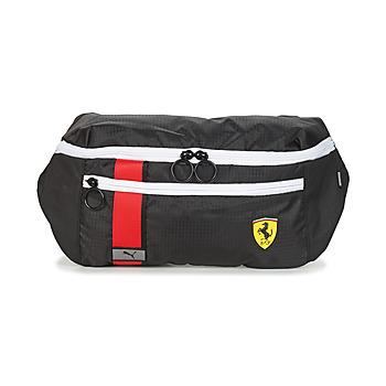 Malas Homem Pochete Puma FERRARI RACE WAIST BAG Preto / Vermelho / Amarelo