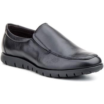 Sapatos Homem Mocassins Carlo Garelli Shoes Calzado con cordones de piel de hombre by Comodo Sport Noir