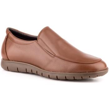 Sapatos Homem Mocassins Carlo Garelli Shoes Calzado con cordones de piel de hombre by Comodo Sport Marron