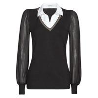 Textil Mulher camisolas Morgan MVANI Preto