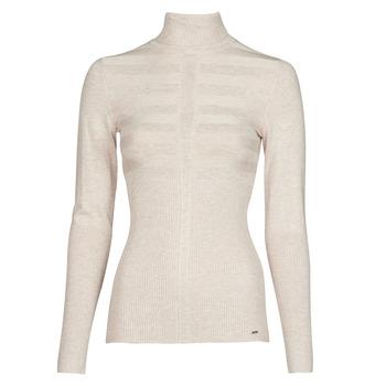 Textil Mulher camisolas Morgan MENTOS Bege