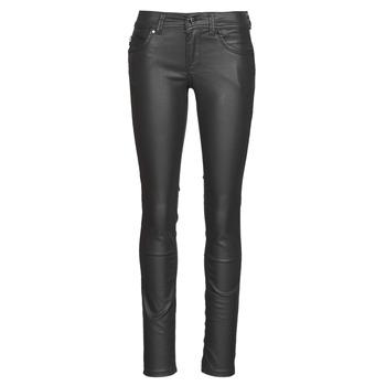 Textil Mulher Calças de ganga slim Pepe jeans NEW BROOKE Preto