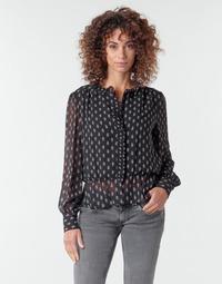 Textil Mulher Tops / Blusas Pepe jeans NORA Preto