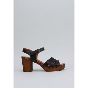 Sapatos Mulher Sandálias Sandra Fontan MADERA Preto