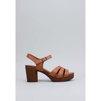 Sapatos Mulher Sandálias Sandra Fontan MADERA Amarelo