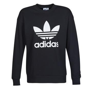 Textil Mulher Sweats adidas Originals TRF CREW SWEAT Preto