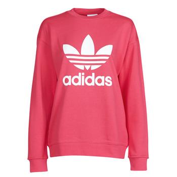 Textil Mulher Sweats adidas Originals TRF CREW SWEAT Rosa