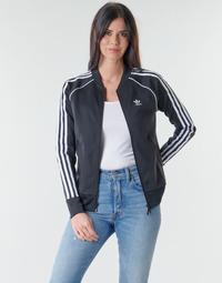 Textil Mulher Casacos fato de treino adidas Originals SST TRACKTOP PB Preto