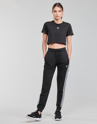 Textil Mulher Calças de treino adidas Originals SLIM PANTS Preto