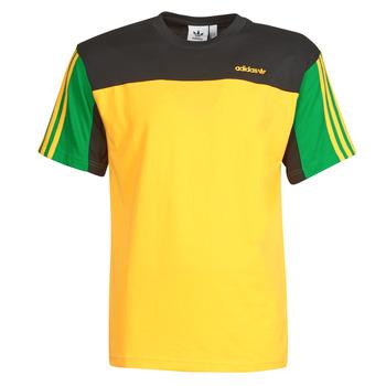 Textil Homem T-Shirt mangas curtas adidas Originals CLASSICS SS TEE Dourado