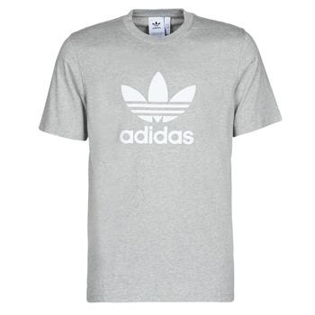 Textil Homem T-Shirt mangas curtas adidas Originals TREFOIL T-SHIRT Cinza