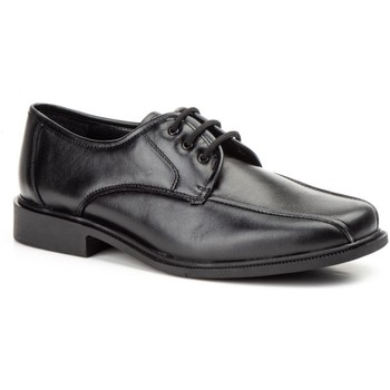 Sapatos Homem Sapatos Cbp - Conbuenpie Calzado con cordones de piel de hombre by Comodo Sport Noir