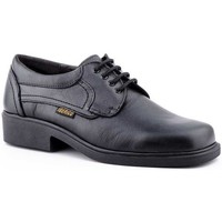Sapatos Homem Sapatos Iberico Shoes Calzado con cordones de piel de hombre by Comodo Sport Noir