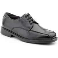 Sapatos Homem Sapatos Nikkoe Shoes For Men Calzado con cordones de piel de hombre by Comodo Sport Noir