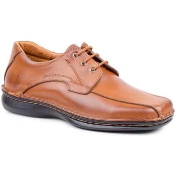 Sapatos Homem Sapatos Cactus Calzados Calzado con cordones de piel de hombre by Comodo Sport Marron