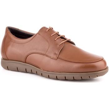 Sapatos Homem Sapatos Carlo Garelli Shoes Calzado con cordones de piel de hombre by Comodo Sport Marron
