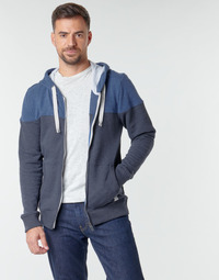 Textil Homem Sweats Tom Tailor 1021268-10668 Preto / Azul