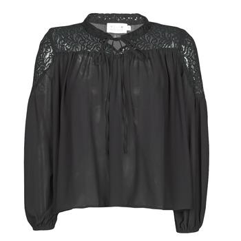 Textil Mulher Tops / Blusas Molly Bracken R1521H20 Preto