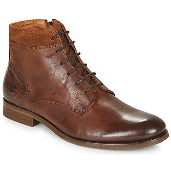 Sapatos Homem Botas baixas Kost HOWARD 35 Conhaque