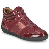 Sapatos Mulher Sapatilhas de cano-alto Damart 57079 Bordô