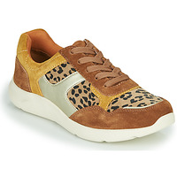 Sapatos Mulher Sapatilhas Damart 62328 Bege / Amarelo