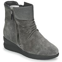 Sapatos Mulher Botas baixas Damart 64305 Cinza