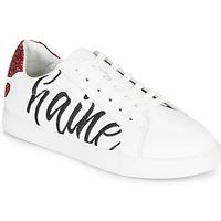 Sapatos Mulher Sapatilhas Bons baisers de Paname SIMONE AMOUR/HAINE Branco