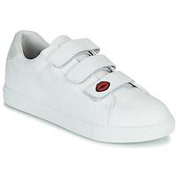 Sapatos Mulher Sapatilhas Bons baisers de Paname EDITH LEGENDE Branco