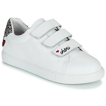 Sapatos Mulher Sapatilhas Bons baisers de Paname EDITH CHERI Branco